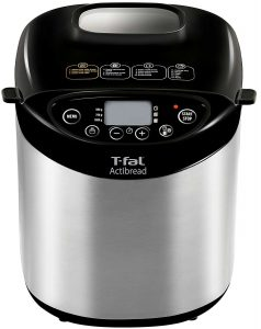 T-fat PF311E ActiBread Programmable Bread Machine Stainless Steel
