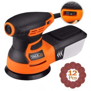 TACKLIFE 5-Inch Random Orbit Sander