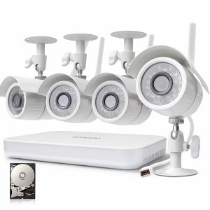 Zmodo 8CH NVR 720p High Definition Security Camera System