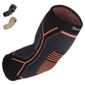Kunto Fitness Golf Elbow Treatment Elbow Support Sleeve