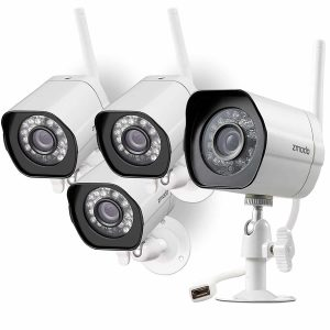 Zmodo Smart Wireless Security Cameras- 4 Pack
