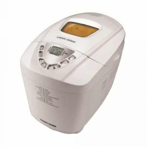 Black & Decker B6000C Deluxe 3-Pound Bread Maker, White Color