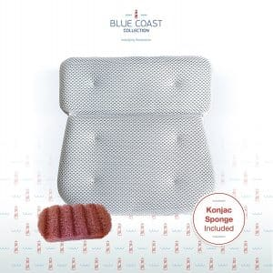 Blue Coast Collection Bath Pillow for Tub