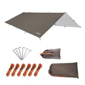 Unigear Waterproof Tent Tarp with UV Protection