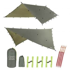 Gold Armour Tarp Hammock, Waterproof and Ultra-light