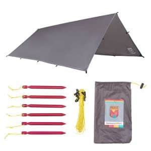 Paria Outdoor Products Sanctuary SilTarp - Camping and Backpacking