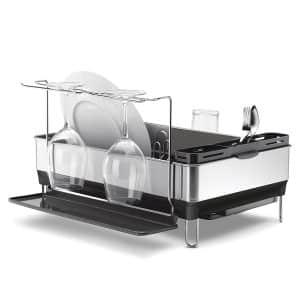 Simplehuman Steel Frame Dish Rack Proof Stainless Steel