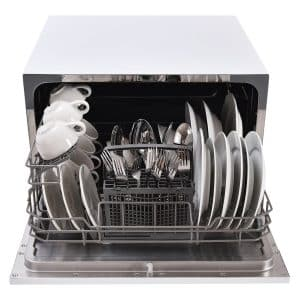Costway Stainless Steel Countertop Portable Dishwasher