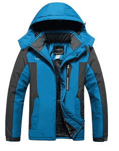Lega Waterproof Insulated Fleece Ski Jacket