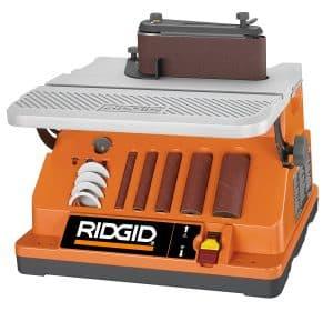 Ridgid EB4424 Oscillating Spindle Sander, Edge Belt