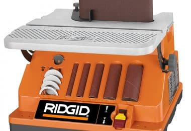 Ridgid EB4424 Oscillating Spindle Sander, Edge Belt
