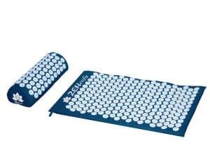 Zensufu Back Pain Relief and Neck Pillow Acupressure Mat Set