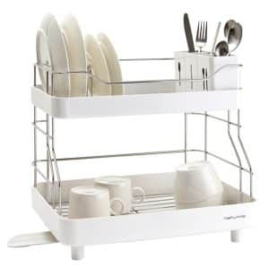 Naturnic Cube 2 - Tier Kitchen Sink ware Dish Rack