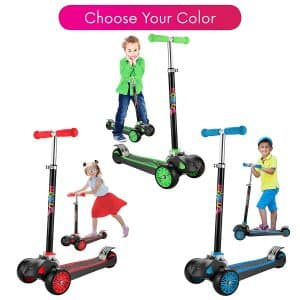 Scooter For Kids, Maxi Foldable Kick Scooter Deluxe
