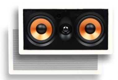 Micca M-CS Dual 5.25 Inch Two Way MTM In-Wall Speaker