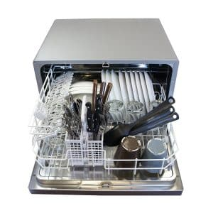 SPT SD-2202S Silver Countertop Portable Dishwasher
