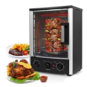 Nutrichef Multi-Function Rotisserie Oven