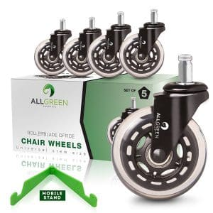 Rollerblade Office Chair Caster Wheels Replacement By All-Green