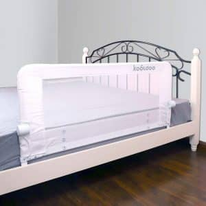 KOOLDOO 43-Inches Fold Down Toddlers Safety Bed Rail