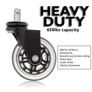 Office Chair Caster Wheels for Professionals by MOD Complete
