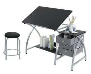 Studio Designs Comet Center With Drafting Table