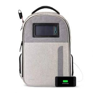 Lifepack Anti-Theft and Solar Powered Backpack with laptop storage
