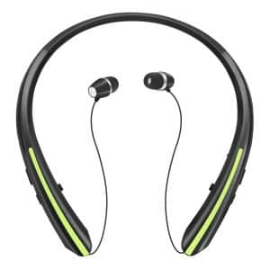MIKICAT Retractable Bluetooth Headphones