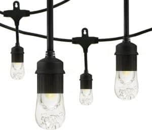 Jasco Enbrighten Café LED String Lights