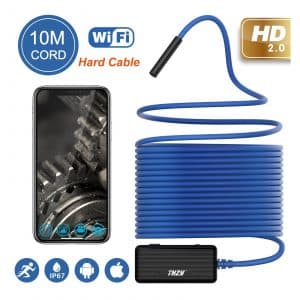 THZY 1200P HD 10m Wi-Fi Borescope Inspection Camera