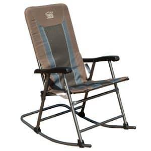 Timber Ridge Padded Folding Rocking Chair