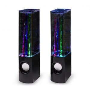 Aolyty Colorful LED Dancing Water Speaker