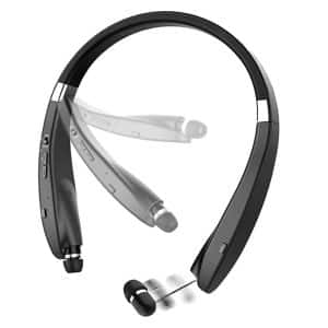 BEARTWO Foldable Retractable Bluetooth Headphones