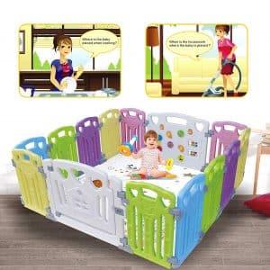 Gupamiga Baby Playpen Play Yard Kids Activity Centre Safety