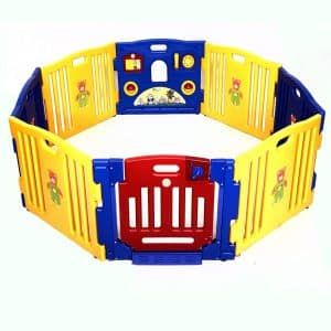 Costzon Baby Playpen Kids Safety Activity Center Play Zone, 8 Panel