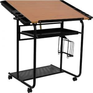 Flash Furniture Adjustable Drafting Table