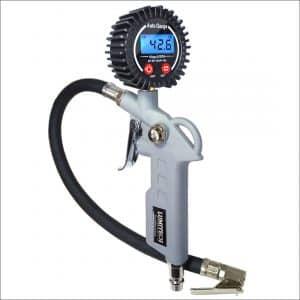 Heavy Duty Digital Tire Inflator Gauge With Accurate Digital Tire Pressure Gauge