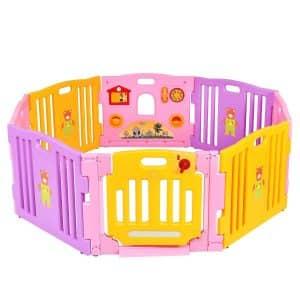 Costzon 8 Panel Baby Playpen