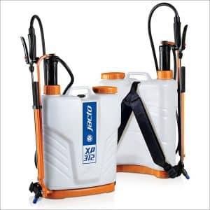Jacto XP312 Backpack Sprayer, Translucent White