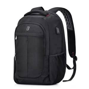 Sosoon Business Bags with USB-Charging Laptop Backpack