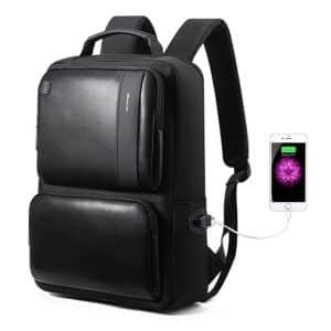 Bopai Business Backpack USB Charging Port 15 inch Laptop Bag