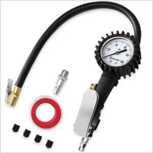 AstroAI Tire Inflator with Pressure Gauge