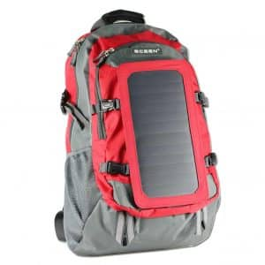 ECEEN Hiking Backpack with Seven Walls Solar Panel Charger