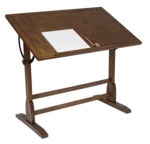 Studio Designs Pedestal Vintage Drafting Table
