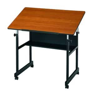 Alvin MiniMaster Drafting Table with Woodgrain Top