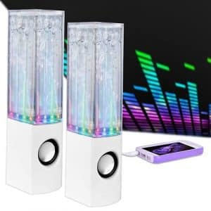 Merkury Innovations Universal Water Dancing Speaker