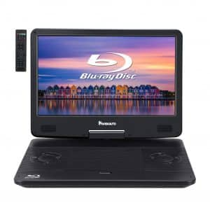 "NAVISKAUTO 14"" Portable Blu-Ray Player"