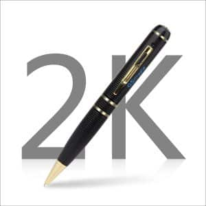 Spy Pen Camera with 32GB GSmade Full HD 2K HD Video Recording