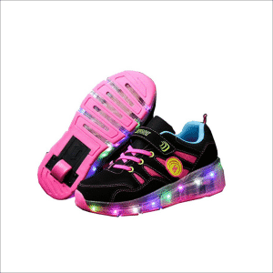 CPS Kids Boys Girls Light Up Wheels Roller Shoes