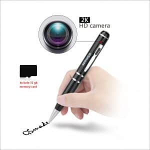 GSmade The 2K-Star Light Night Vision Pen Spy Camera