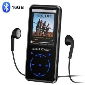 Soulcker MP3 16GB Bluetooth 4.0 Player